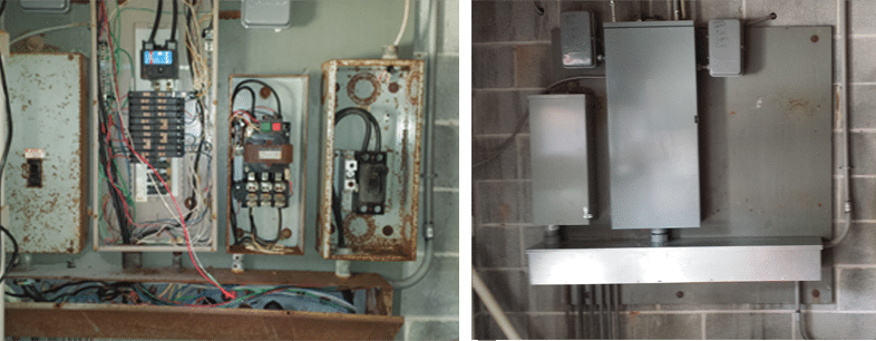 For electrical panel replacement Marietta GA calls Shockley Electric.