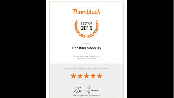 Shockley Wins Best Atlanta Electrician Awards 2 Years in a Row
